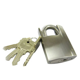 Stainless Steel Close Shackle Padlock from  Kin Kei Hardware Industries Ltd