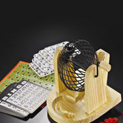 Wooden bingo set from  Ningbo Bothwins Import & Export Co. Ltd
