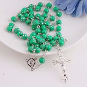 China Jewelry wholesale China cheap items to sell plastic rosary necklace custom plastic rosary