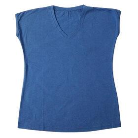 Women's Short-sleeved V-neck T-shirt from  Global Silkroute