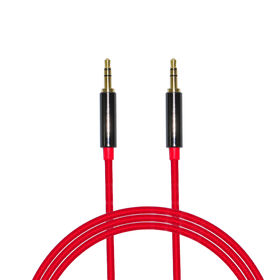 Nylon Braided 3.5mm Stereo Aux Audio Cable for from  Dongguan Trangjan Industrial Co.,Ltd