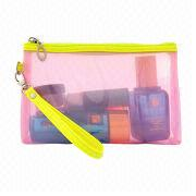 Girl Leather Cosmetic Bag from  Fuzhou Oceanal Star Bags Co. Ltd