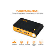 China Car jump starter, 7500mAh with 12V output and double USB 5V output, portable charger