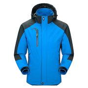 Men's Sportswear Hooded Softshell Outdoor Raincoat from  Fuzhou H&f Garment Co.,LTD