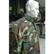 China China factory made cheap military woodland camouflage jacket for men