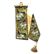 Taiwan Bell pull, solid brass topper
