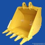 China Excavator bucket for soil and rock collecting