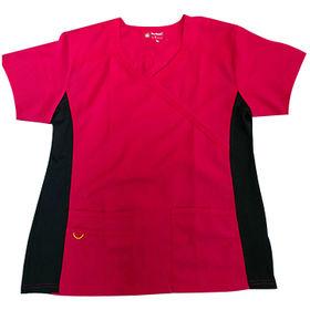 medical scrub top from  Changshu Kingtex Import And Export Co.Ltd