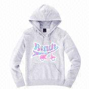 Light gray women's pullover hoodie sweatshirts from  Fuzhou H&f Garment Co.,LTD