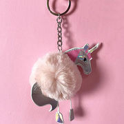 Fashionable Plush Unicorn Keychains from  Chanch Accessories International Co. Ltd
