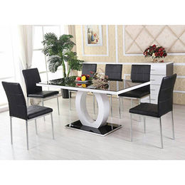 Modern High Gross Dining Table Furniture from  Langfang Peiyao Trading Co.,Ltd