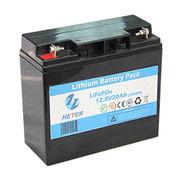 12.8V20AH LiFePO4 starter battery from  Shandong Goldencell Electronics Technology Co. Ltd