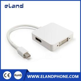 3-in-1 Mini DisplayPort to HDMI DVI DisplayPort C from  Elandphone Electronic Co. Ltd