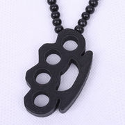 Wood necklace from  Ningbo Fashion Accessories Factory
