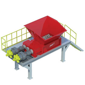 Hydraulic Shredder from  KEITI (Korea Environmental Industry & Technology Institute)