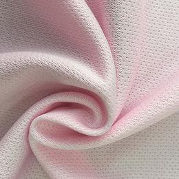 100% spun polyester single jersey knitted wicked sportswear fabrics