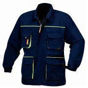 Heavy duty work jacket from  Fuzhou H&f Garment Co.,LTD