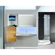 China IP44 LED TV Mirror Cabinet, 800 x 600mm, 15