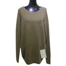 Ladies' 100% cashmere women's sweater from  Inner Mongolia Shandan Cashmere Products Co.Ltd