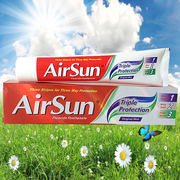 China Airsun Triple Protection Toothpaste with Color Stripes