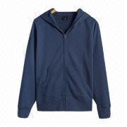 Men's cotton hoodies sweatshirts from  Fuzhou H&f Garment Co.,LTD