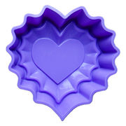 Heart Shape Silicone Cake Mold from  Iris Fashion Accessories Co.Ltd