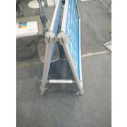 China Pop up A frame aluminum display stand poster frame with high quality
