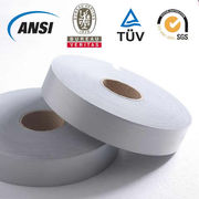China Silver Reflective Tape for Industrial Wash with Wash 100 Cycles