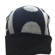 100%Cashmere Knitted Beanies from  Inner Mongolia Shandan Cashmere Products Co.Ltd