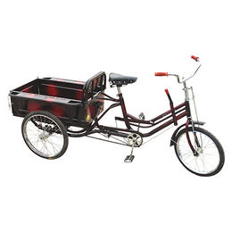 26 inch Three wheels pedal tricycle bike from  Hebei IKIA Industry & Trade Co. Ltd