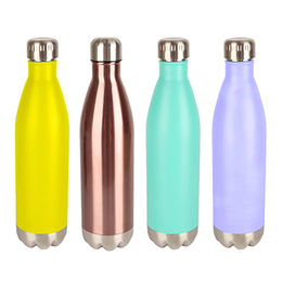 Cola bottle shape stainless steel thermos vacuum from  Fuzhou King Gifts Co. Ltd