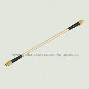 MMCX to SMA Cable from  EnterTec Technology Inc.