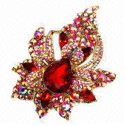 Fashionable Jewelry Brooches from  Iris Fashion Accessories Co.Ltd