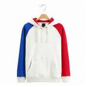 New Trendy Colorful Women's Pullover Hoodie Sweat from  Fuzhou H&f Garment Co.,LTD