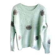 Women's crew neck pullovers from  Meimei Fashion Garment Co. Ltd