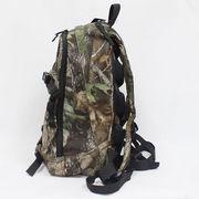 China Hiking Backpacks, OEM/ODM, Made of 100% Nylon