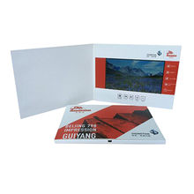 LCD Video Brochure Card