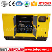 china chinese diesel engine threephase generator set portable 15kva silent small91 generator