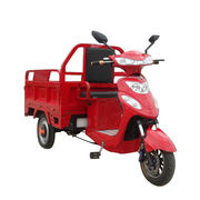 North American 3-wheel electric cargo tricycle for trailing