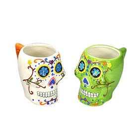 Porcelain Halloween Mugs