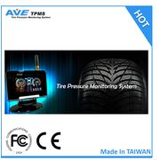 Taiwan AVE-T1008T full time TPMS tire pressure monitoring system for truck/HCV/van/lorry/tow