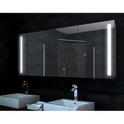 China IP44 Triple-door LED Mirror Cabinet, 700 x 1200mm