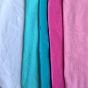 95% cotton with 5%elastan,stock fabric,160g/m2,40S,blue,white,pink,no minimum order