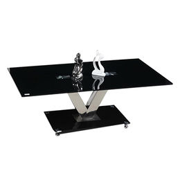 Hot Sale Black Tempered-glass Coffee Table from  Langfang Peiyao Trading Co.,Ltd