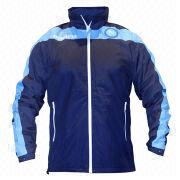 Men's waterproof windbreakers from  Fuzhou H&f Garment Co.,LTD