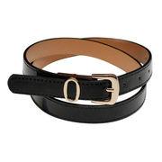 Stylish Black PU Leather Belt from  Chanch Accessories International Co. Ltd