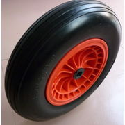China Puncture-proof PU foam wheel