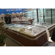 China Combined frozen food and seafood display deep island freezer