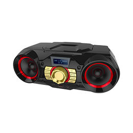 Mini Boombox CD Radio Player