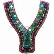 Graceful National Style Collar Motif from  Chanch Accessories International Co. Ltd